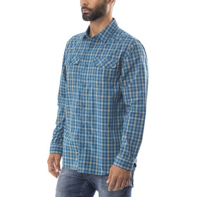 Patagonia High Moss LS Shirt Men Summit: Big Sur Blue